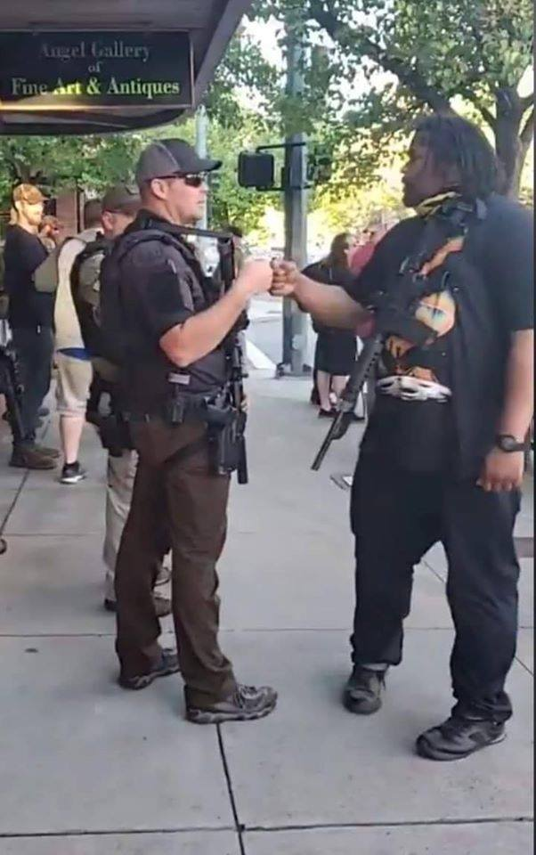 COEUR D'ALENE, IDAHO STANDS UP…ANTIFA STANDS DOWN!